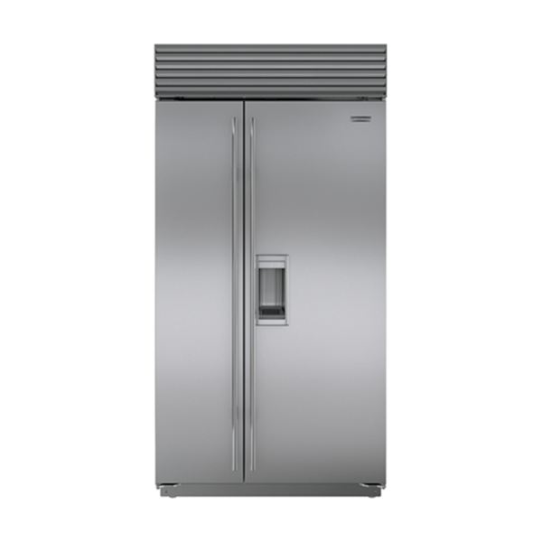 sub zero Side-By-Side Refrigerator/Freezer With Ice & Water Dispenser