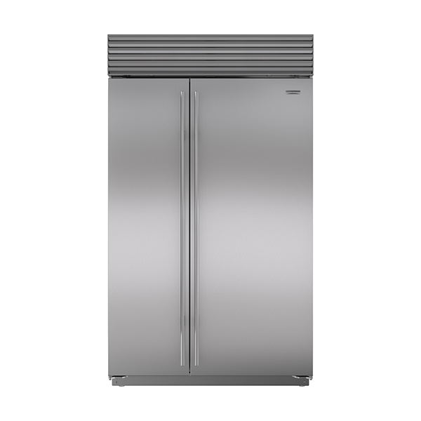 sub-zero SIDE-BY-SIDE REFRIGERATOR/FREEZER WITH ICE & WATER DISPENSER