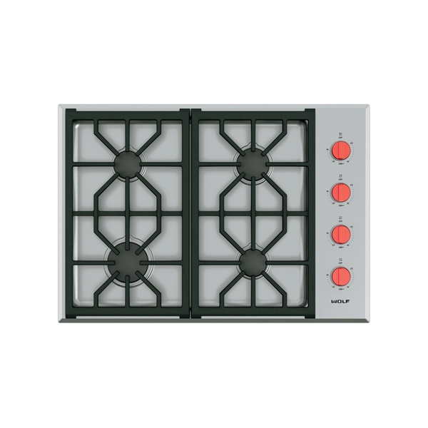wolf - ICBCG304P_S-762MM-PROFESSIONAL-GAS-COOKTOP