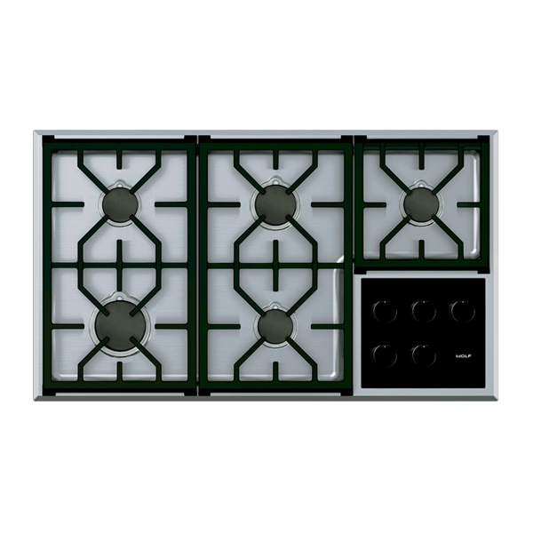 wolf - ICBCG365T_S-914MM-TRANSITIONAL-GAS-COOKTOP