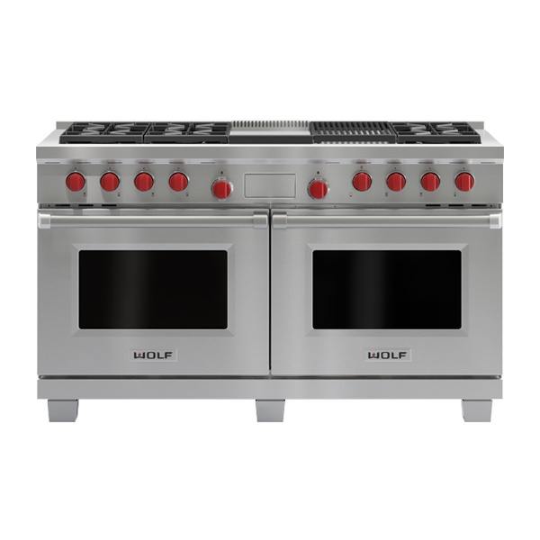wolf - ICBDF606CG-1524MM-DUAL-FUEL-RANGE-WITH-CHARBROILER-AND-GRIDDLE