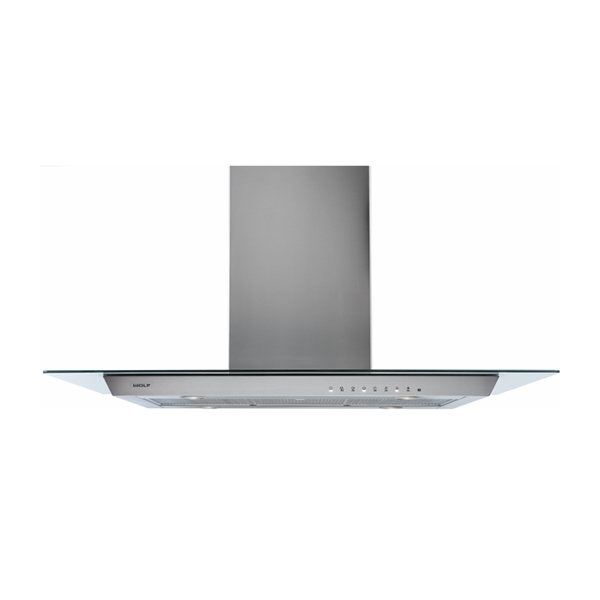 wolf - ICBVI45G-1143MM-GLASS-COOKTOP-ISLAND-HOOD