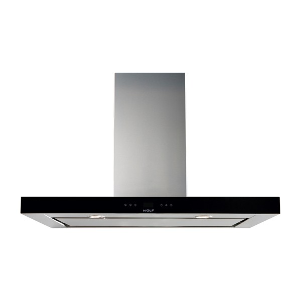 wolf - ICBVW36B-914MM-BLACK-COOKTOP-WALL-HOOD